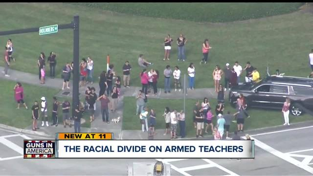 Trump's suggestion to arm teachers draws fire locally