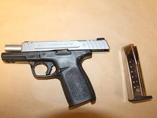 Loaded gun found in street near middle school