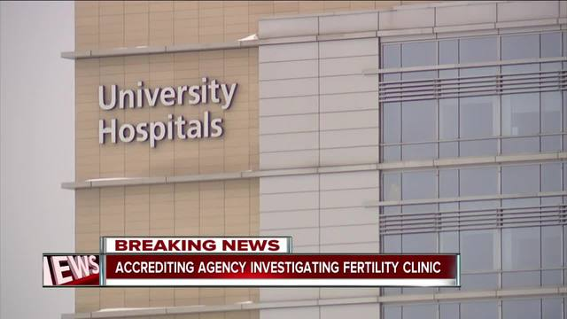 University Hospitals' CEO Tom Zenty addresses fertility clinic failure