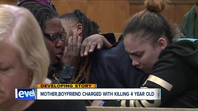 Mother- boyfriend charged with aggravated murder in death of 4-year-old…