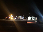 Overturned semi on turnpike causes major traffic