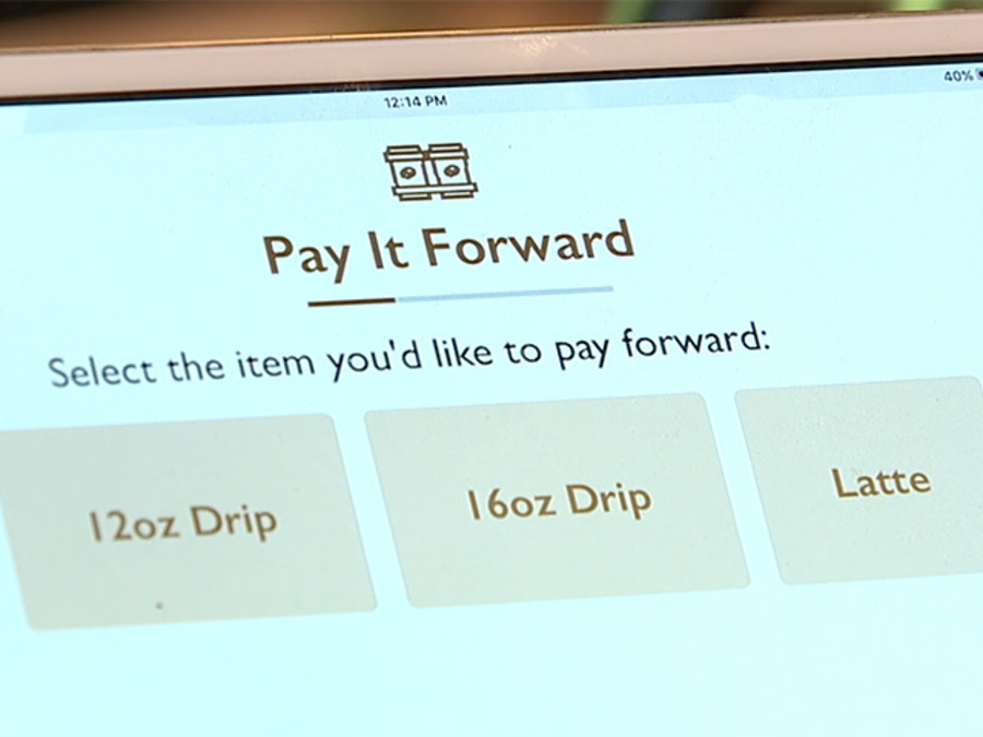 Cleveland coffee app let's you to pay it forward, buy a cup for a stranger or a friend