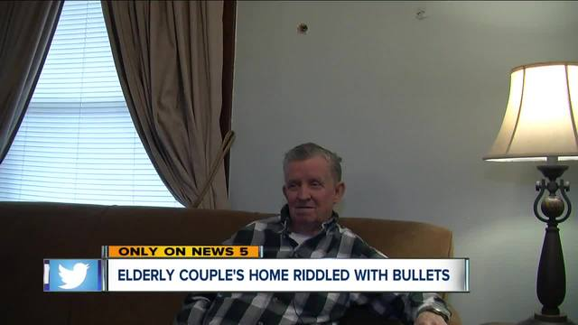Canton grandfather scared after home is riddled with bullets