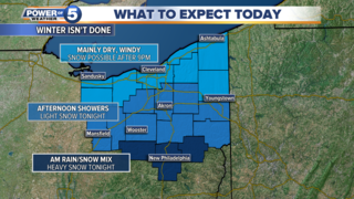 WEATHER: Tracking a storm system for today