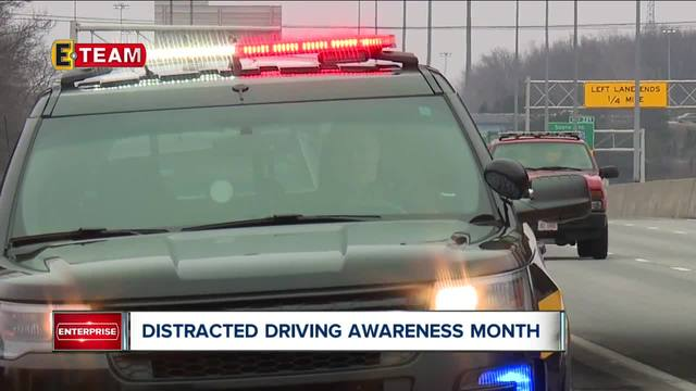 Local Law Enforcement Officers Crack Down On Distracted Drivers