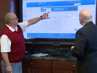 App helps residents track problems in their city