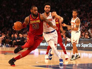 Cavs beat Knicks, win Central Division title
