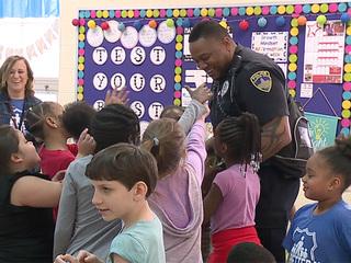 Rock star cop changes lives in schools