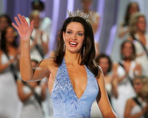 Miss America 2005 marries same-sex partner