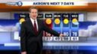 WEATHER: Cloudy & damp today, sunshine Thursday