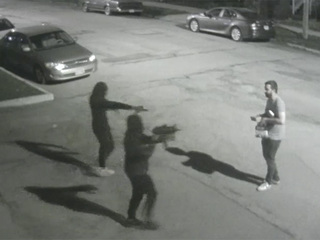 Armed robbery victim sticks up for Tremont