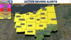 Severe Thunderstorm Warning passes