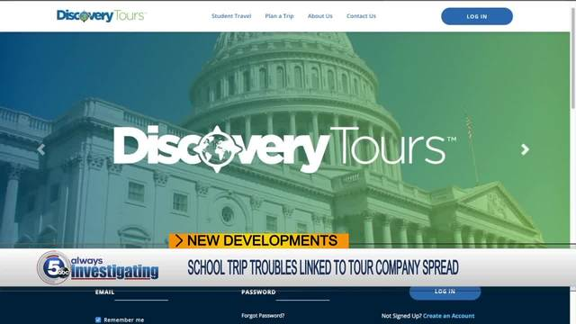 Riverside seventh-grade trip through Discovery Tours uncertain