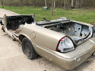 Local group pulls stolen car from Black River