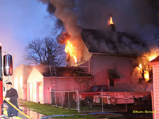 Home destroyed in Elyria house fire Sunday
