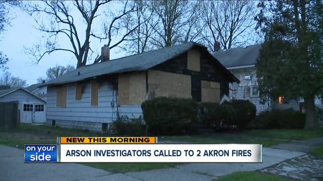 1 person dead after fire in Akron house rented by college students