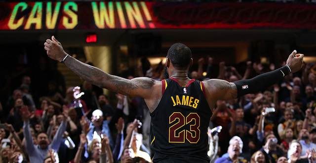 Sweeping: Cavs-Raptors Game 4, Behind the Box Score
