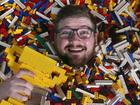 Student wins job building Lego models at mall