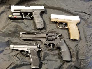 BB gun crime spree in Alliance