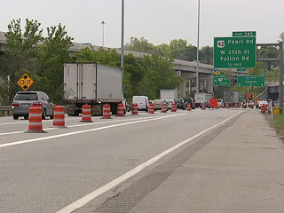 Construction worker hit on State Route 176