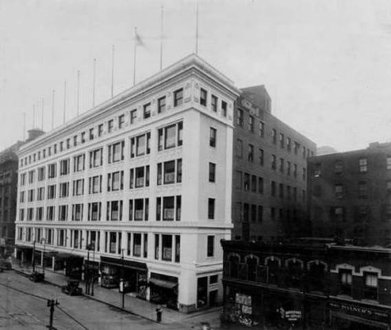 Historic May Company department store. Photo: Cleveland Memory Project
