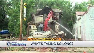 What does it take to demolish a condemned home?