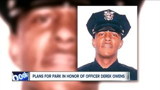 Vacant lot will become fallen officer memorial