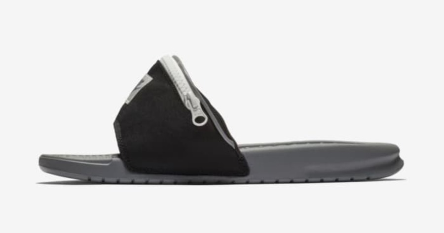 637c8aa12ea574 Fanny packs on your waist are so 1993. Nike s new Benassi fanny pack slides  are expected to be released soon