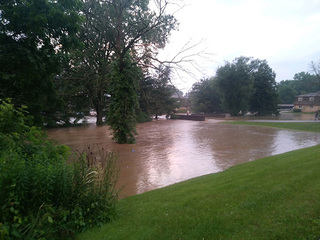 15 rescued after flooding in Stark County