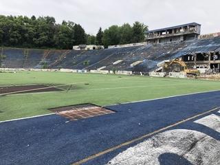 Akron begins demolition of Rubber Bowl