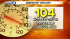 Anniversary of hottest day in Cleveland history