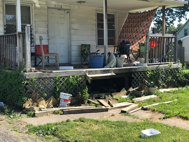 People are scared': Squatters living in an abandoned CLE house are on