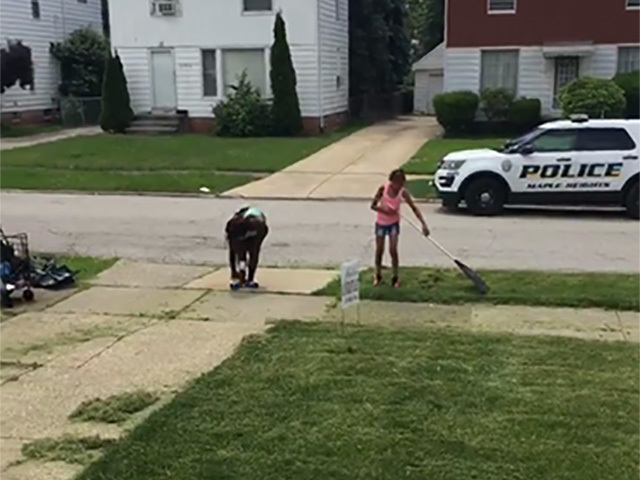 Image result for cutting grass kids cleveland