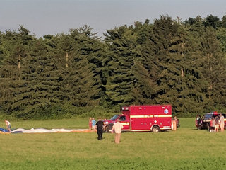 Pilot who died in hot air balloon incident ID'd