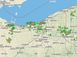 Flood advisory for Cuyahoga and Lorain counties