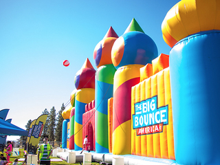 The biggest bounce house ever is coming to CLE