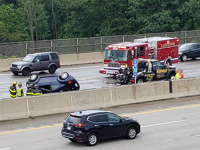 Two accidents on I-90 near McKinley Avenue in both ...