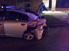 Alleged drunk driver crashes into trooper's car