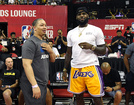 It's all love between LeBron James and Ty Lue