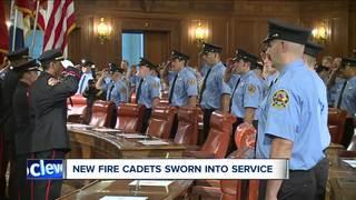 Over 3 dozen Cleveland fire cadets graduate