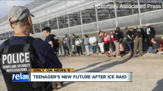 Teen-s future uncertain after ICE raid in Sandusky