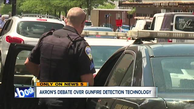 Akron councilwoman pushing for technology that alerts police to gunfire