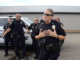 Uniontown cops dance in viral video