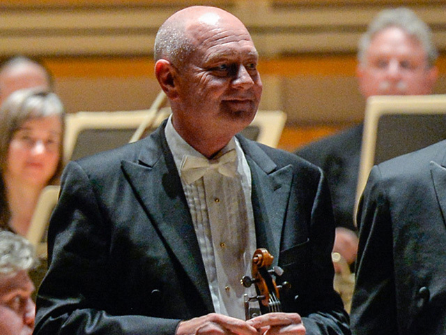 Cleveland Orch  suspends concertmaster William Preucil 1 day after