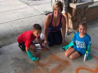 Graffiti galvanizes community, sparks clean up