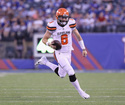 Mayfield shows the goods, Browns beat Giants