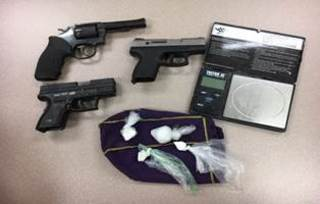 Cocaine, guns and cash seized in Lake County
