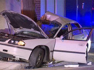 Chase by Parma police leads to gnarly crash