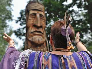 Akron: Native American statue is coming down