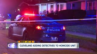 Cleveland Police beefing up homicide unit